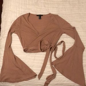 Never worn!!!! Tan crop